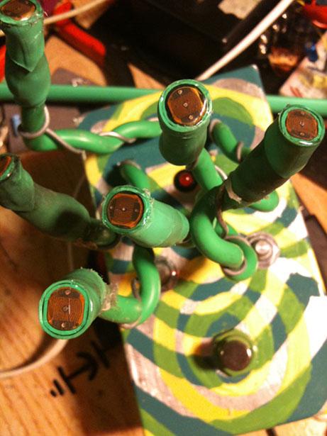 custom-built instrument by Darcy Neal made for Wayne Coyne